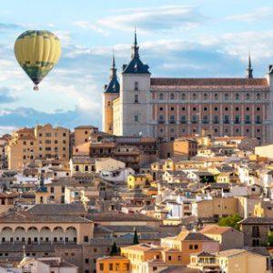 Toledo en globo