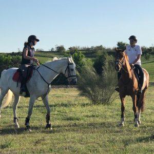 El Pardo a caballo