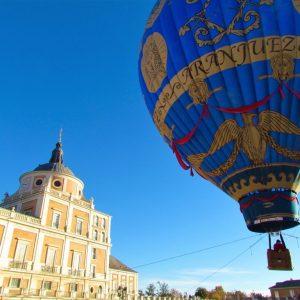 Aranjuez en globo